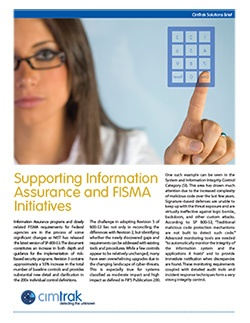Download the CimTrak FISMA Whitepaper