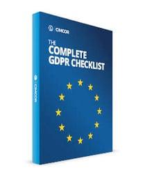GDPR Checklist cover
